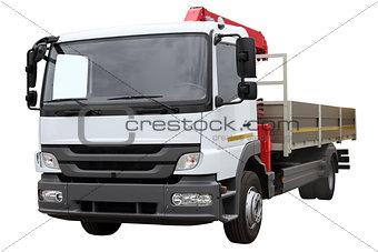 Car-crane for transportation of goods.