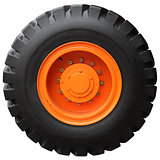 The orange wheel