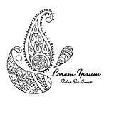 Paisley ornament, sketch for your design