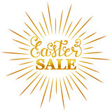 Easter sale inscription