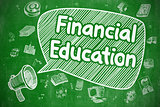 Financial Education - Business Concept.