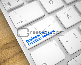 Business Plan Creation Services - Message on the White Keyboard