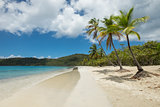 Tropical beach in Saint Thomas