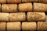 different wine corks