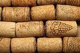 different wine corks