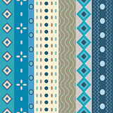 Bright Colorful seamless stripes pattern.