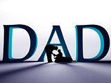 3D Dad Text