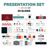 Presentation templates - 20 slides