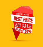 Sale Best Price Banner.