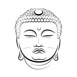 Drawing Buddha Head