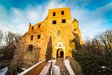 Grodno castle courtyard