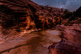 Zion Park at night