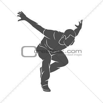 Parkour Jump Silhouette