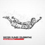 soccer player celebrating