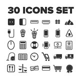 Multipurpose icon set