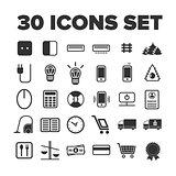 Multipurpose icon set