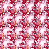 Creative valentine spotty pattern