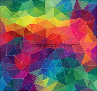 Flat Geometric triangle wallpaper