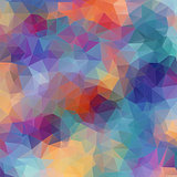 Multicolor Vector. background with triangles shapes