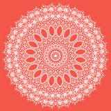 White Texture. Oriental Geometric Ornament