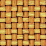seamless texture of wood weaving