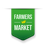 Farmers Market green ribbon