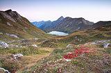 autumn in Alps by Schrecksee