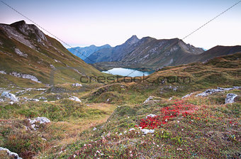 autumn in Alps by Schrecksee