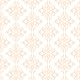 Decorative orange pattern. Vector abstract background