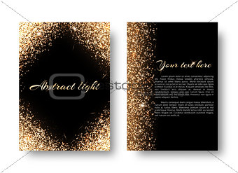 Bling background with light effect