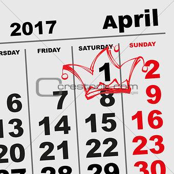 1 April Fools Day Calendar reminder