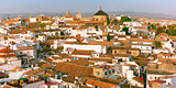 Panorama of the old city in Cordoba, Spain