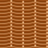 Wicker straw twigs seamless pattern