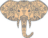 Elephant Head Tusk Mandalaa