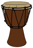 Small ethno drum