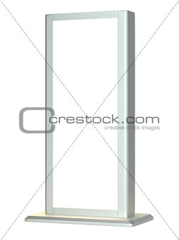 Black lightbox in white background
