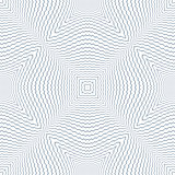 Seamless wavy zigzag lines pattern.
