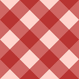 Red checkered seamless background