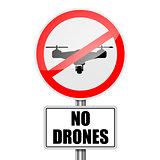 RoadSign No Drones