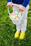 after easter egg hunt