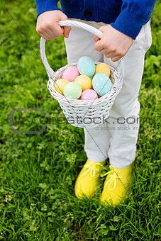 after easter egg hunt