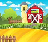 Farmland theme background 1