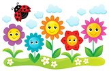 Happy flowers topic image 1