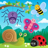 Spring animals and insect theme image 5