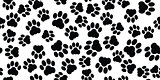 cat paw seamless
