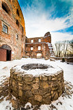 Well in Grodno castle