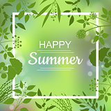 Happy Summer green card