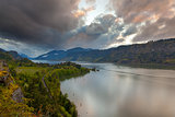 Storm Clouds over Hood River