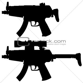 Small submachine guns