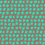 Simple Seamless Pattern with Grid Objects